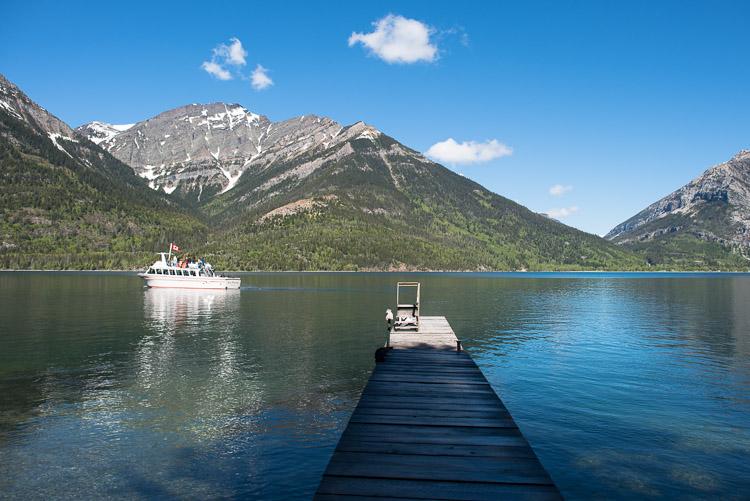Crypts Lake Trailhead Ferry