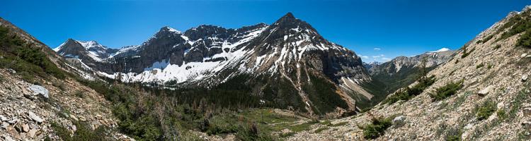Crypt Lake panorama