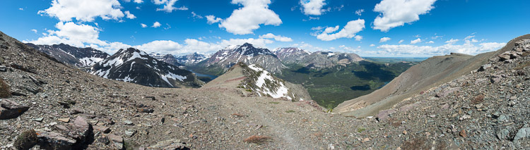 Panorama view of Scenic Point