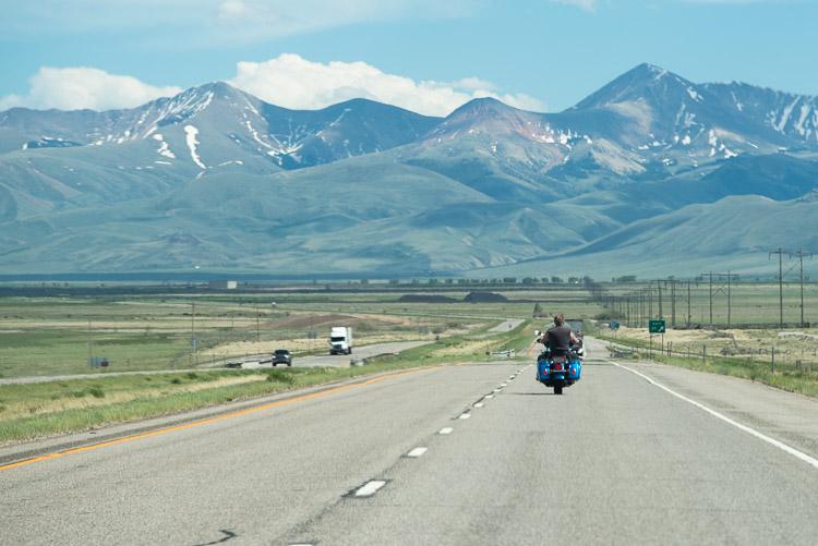 South through Idaho
