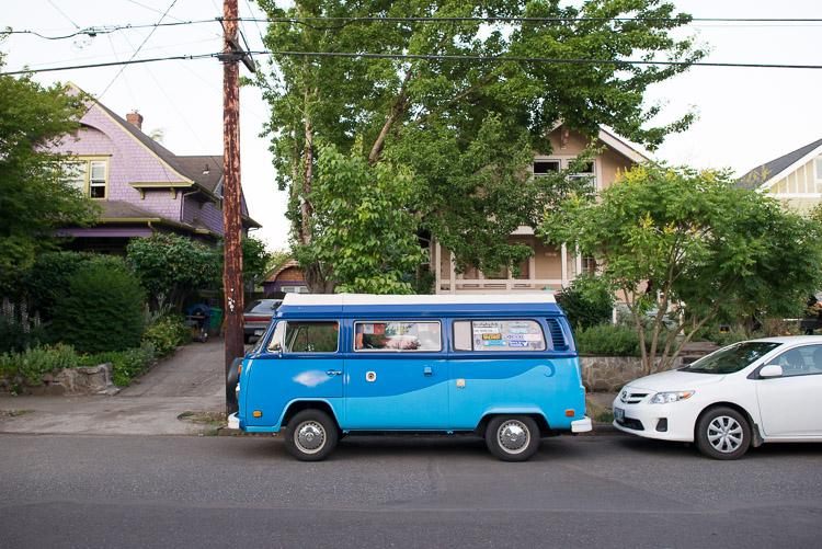Portland Volkswagon Van