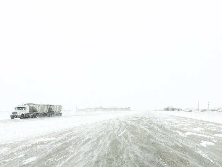 Blustery Prairie Highway