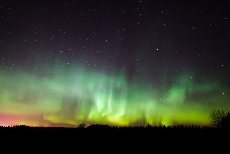 Northern lights start becoming more active