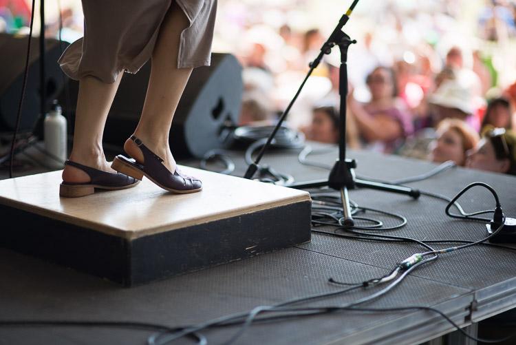 Dancing feet at Winnipeg Folk Festival