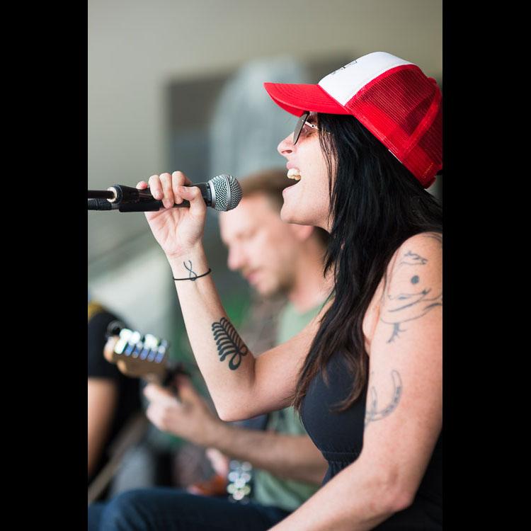 Romi Mayes at the Winnipeg Folk Festival
