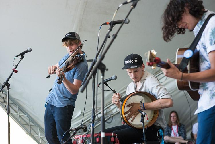 Ten Strings and a Goat Skin at the Winnipeg Folk Festival