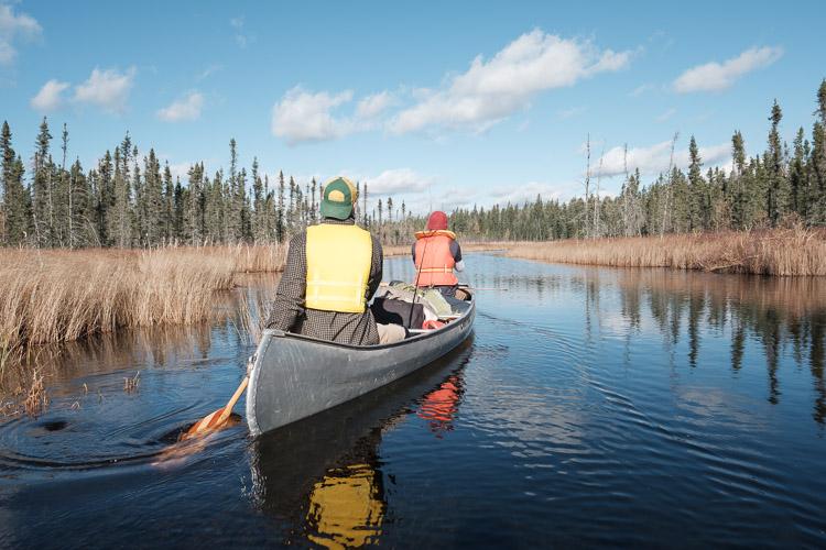 Canoe scenery