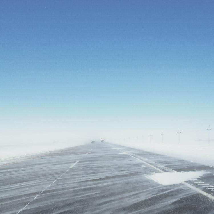 Desolate Prairie Highway