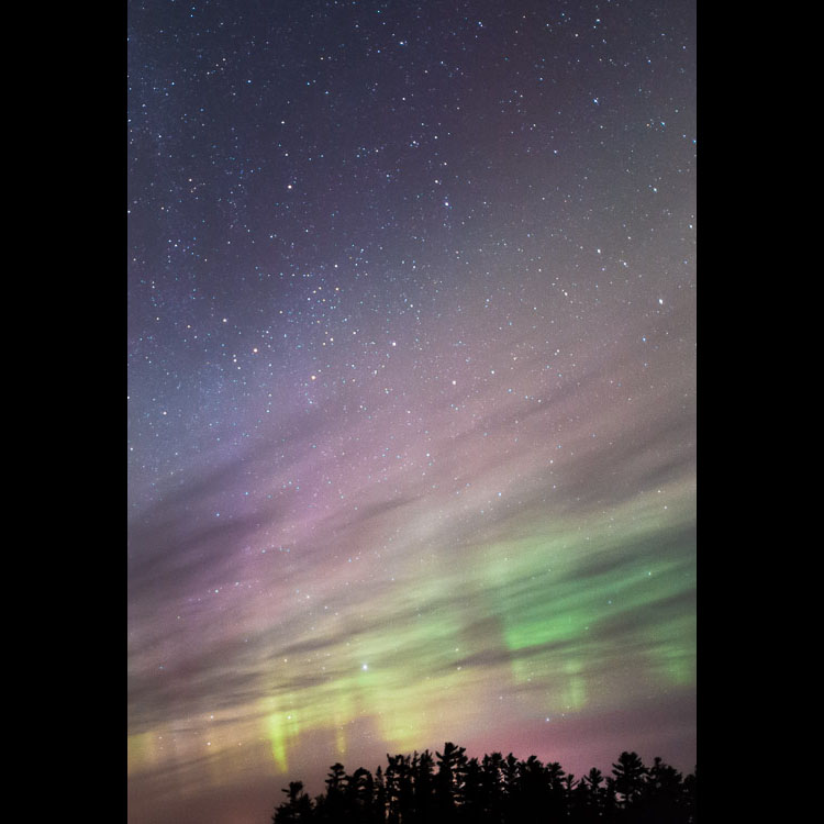 Northern Lights Vertical