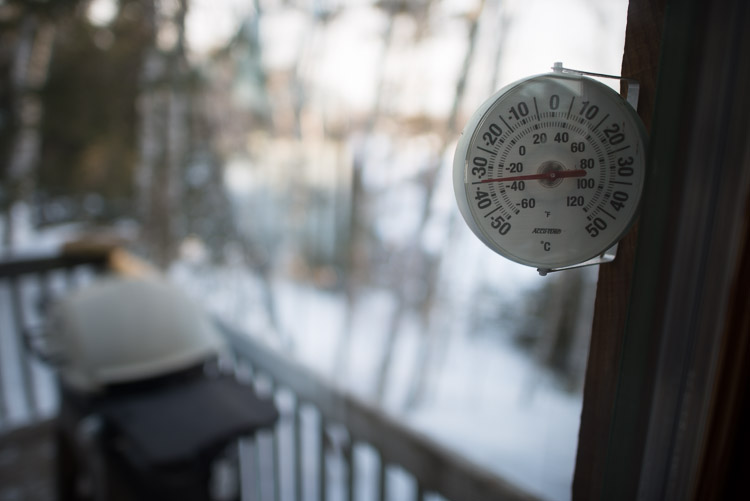 Frosty Thermometer