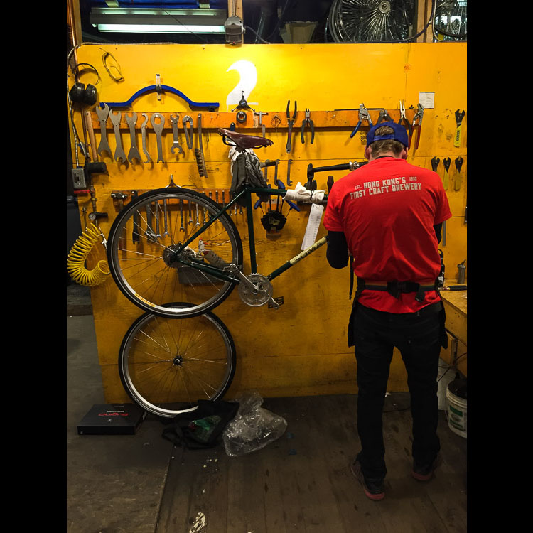 Building a custom bike with Natural Cycleworks