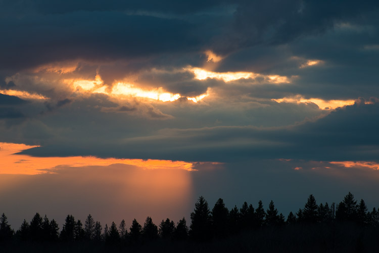 Clouded Sunset