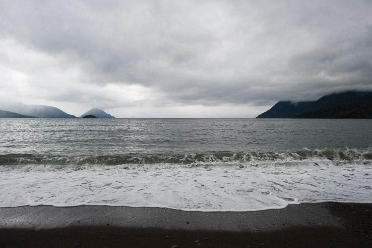 Gregory Beach at Rennell Sound - Western Haida Gwaii