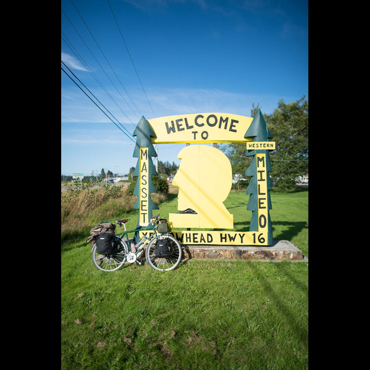 Mile zero of the Yellowhead Highway