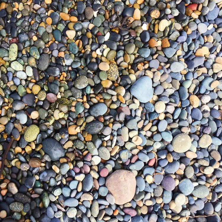 Pebbles of Agate Beach - Haida Gwaii - Naikoon