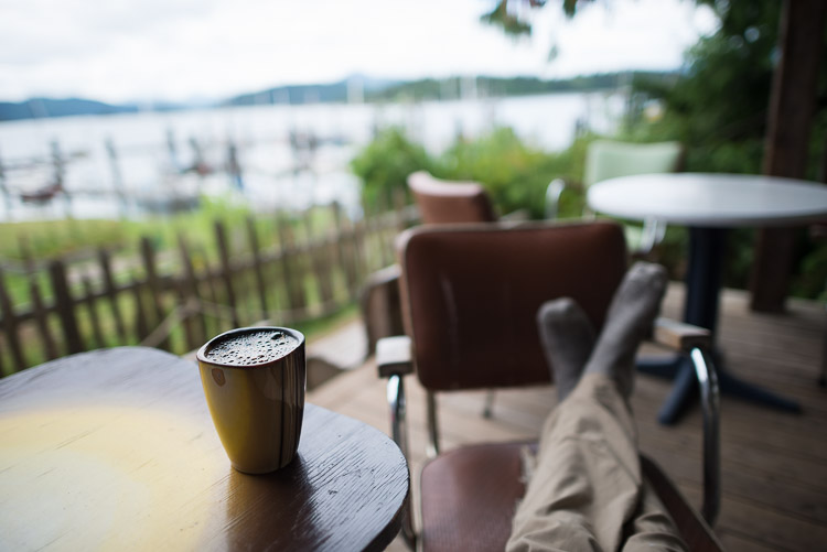 Coffee in Queen Charlotte City