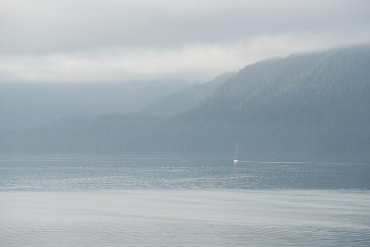 On the ferry leaving the Haida Gwaii