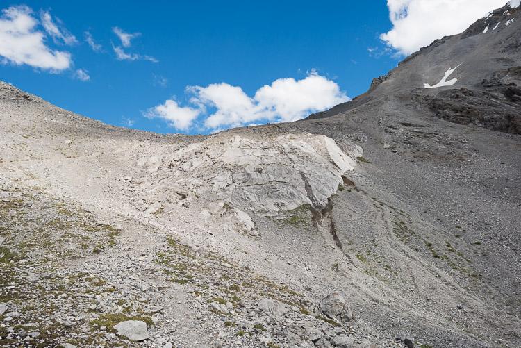 Southern Buller Pass approach - final ascent