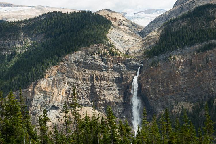 Takakkaw Falls and Daly Glacier