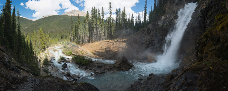 Laughing Falls in Yoho National Park
