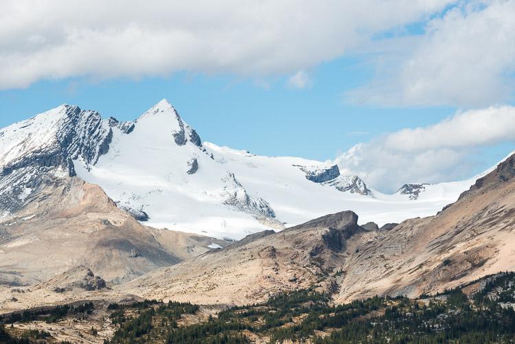 Whaleback glacier view