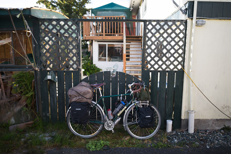 Bike tour departing from Port Hardy
