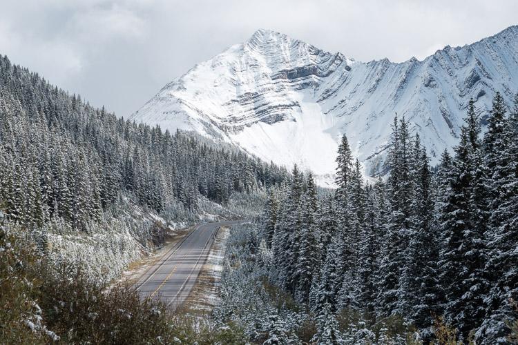 Kananaskis Highway 40 - Winter access to paradise